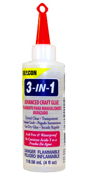 3 IN 1 GLUE - 4 oz.