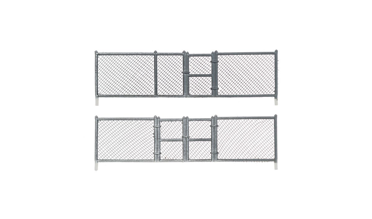 HO-SCALE CHAIN LINK FENCE