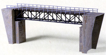 HO-SCALE BOX TRUSS BRIDGE KIT