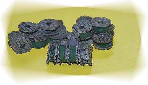 HO-SCALE WIRE CABLE SPOOLS