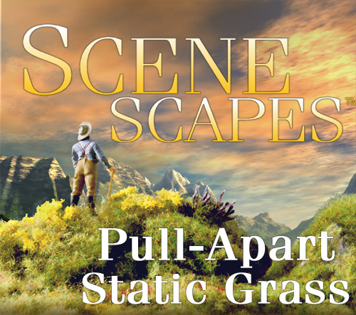 Pull-Apart Static Grass