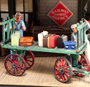 O-SCALE BAGGAGE CART