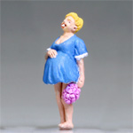 O-SCALE PREGNANT HILLBILLY BRIDE