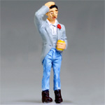 O-SCALE RELUCTANT HILLBILLY WEDDING GROOM