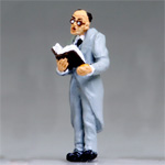 O-SCALE HILLBILLY WEDDING PREACHER