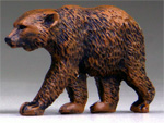 O-SCALE GRIZZLY BEAR