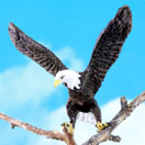 O-SCALE AMERICAN BALD EAGLE