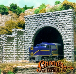 N Scale Double Cut Stone Portal Scenic Express