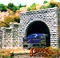 N-SCALE DOUBLE CUT STONE PORTAL