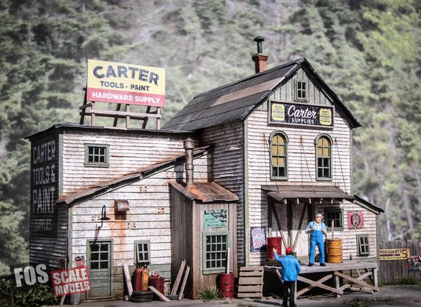HO-SCALE CARTER SUPPLY
