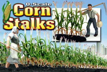 O-SCALE CORN STALKS