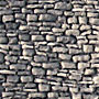 MULTI-SCALE NATURAL FIELDSTONE WALL