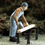 O-SCALE CRAFTSMAN USING POWER DRILL