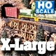 HO X-LARGE TRESTLE BENTS