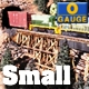 O-SCALE SMALL TRESTLE BENTS