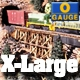 O-SCALE X-LARGE TRESTLE BENTS - 5pcs