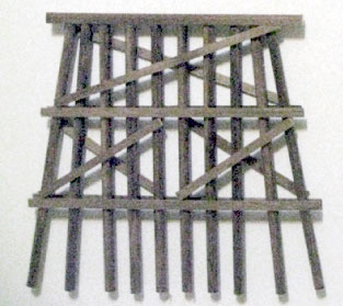 O-SCALE MEDIUM DOUBLE TRACK BENTS