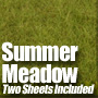 Summer Green Field Meadow Mat