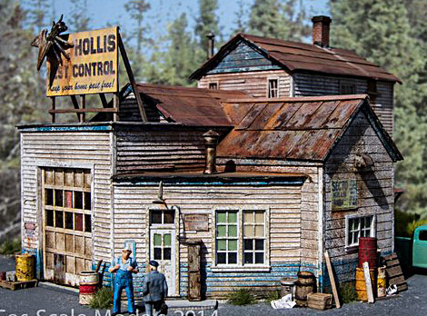 HO-SCALE HOLLIS PEST CONTROL