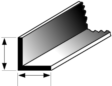 3 8 X 3 8 Angle Iron Beam Scenic Express