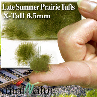 6mm X-LONG LATE SUMMER PRAIRIE TUFTS (FULL SET)