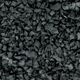 BLACK COAL RUBBER BALLAST - 1 LB.