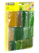 6mm and 12mm LONG STATIC GRASS ASSORTMENT SET