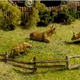 HO-SCALE SPLIT RAIL FENCE