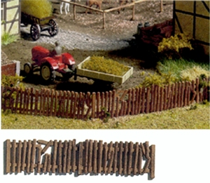 Ho Scale Dilapidated Fence Scenic Express