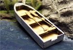 HO-SCALE 16' FISHING BOAT