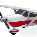 HO-SCALE CESSNA 172 'SKYHAWK' KIT