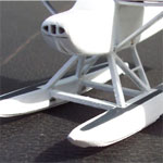 FLOAT KIT FOR CESSNA 'SKYHAWK' - HO SCALE