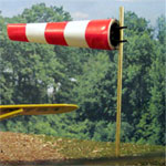 N-SCALE LANDING STRIP WIND SOCK