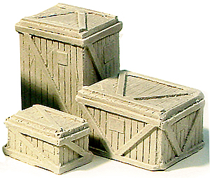 ho scale small wooden crates - Small Wooden Crates