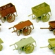 HO-SCALE HAND CARTS