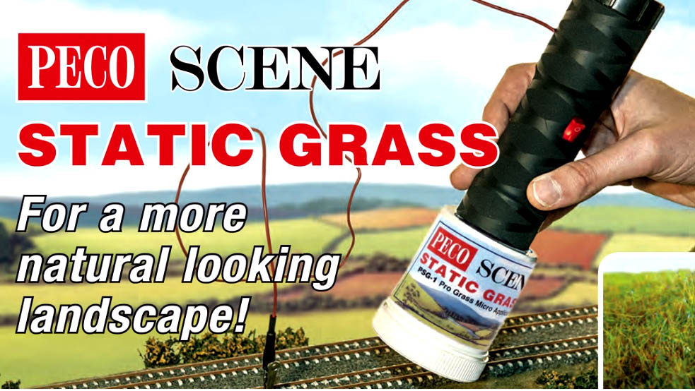 Peco Scene PSG-3 Pro Static Grass Precision Applicator