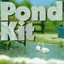 HO-SCALE GARDEN POND SET