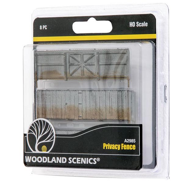 HO-SCALE PRIVACY FENCE