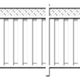 RESIDENTIAL PRIVACY FENCE SET