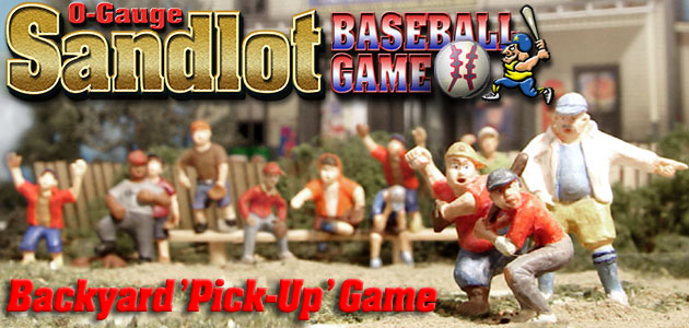 O-Scale Sandlot Game