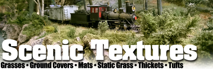 Scale Model Grasses and Ground Covering