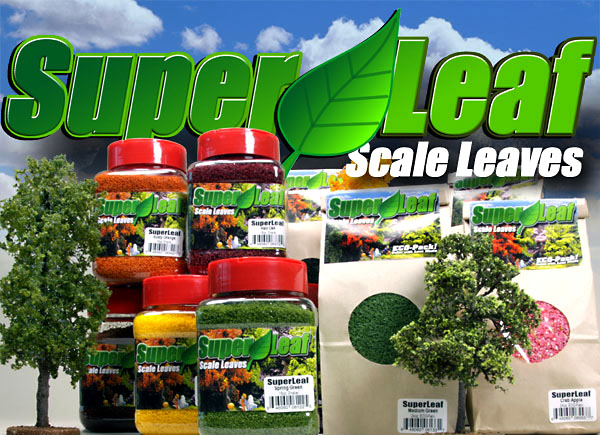 NEW  Scale Model Leaf Material!