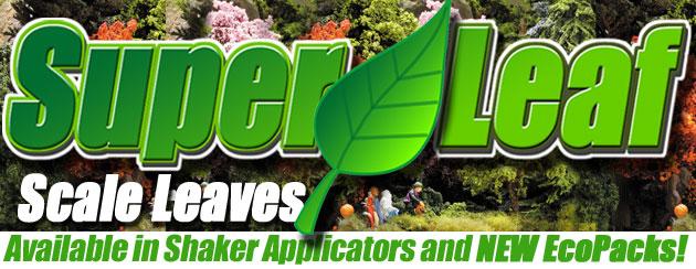 Click to see NEW SuperLeaf. Scale leaf flake flock.