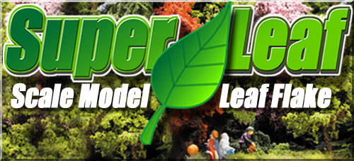 NEW SuperLeaf Scale Model Leaf Material!