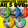 COMPLETE TRACKSIDE MODELER 5 PART DVD SERIES