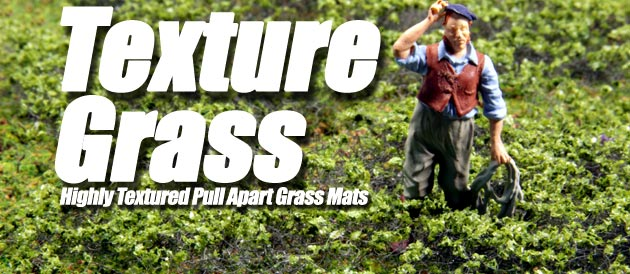 NEW! Pull Apart Textured Grass Mats!!
