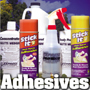 Sprays and Adhesives