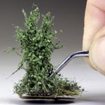HIGH DARK GREEN BUSHES 3-4cm/ 10 Pcs.