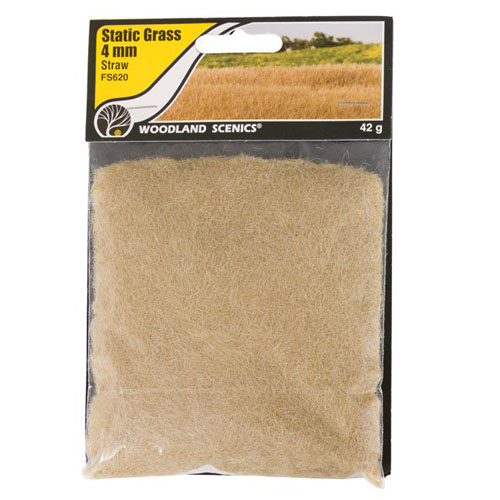 4mm STRAW STATIC GRASS