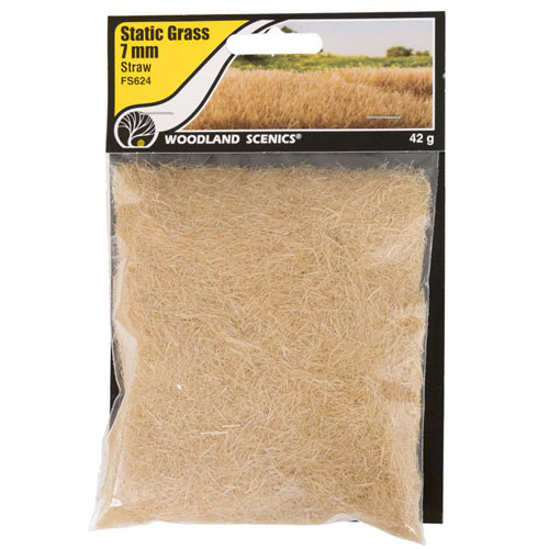 7mm STRAW STATIC GRASS